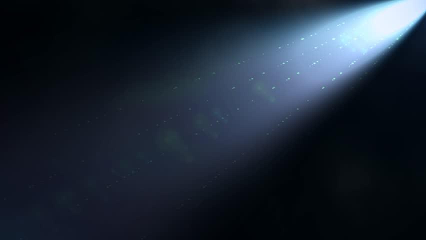 dynamic spot light abstract motion blue background 2 - 4K stock video clip