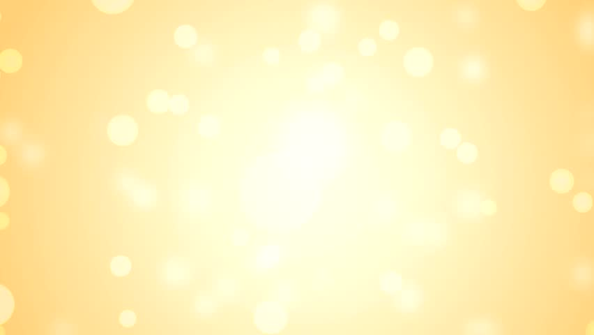 Gold Circle Bokeh Lights. Computer Generated Seamless Loop ...  Gold Circle Bok...