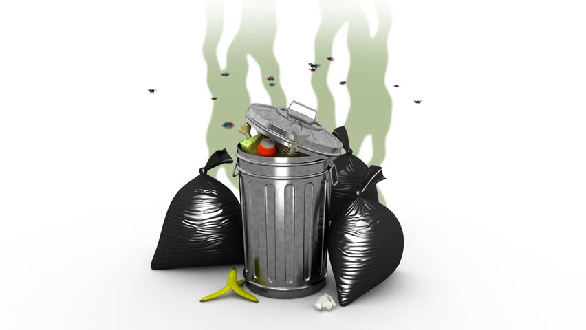 Stinky Trash Clipart - Clipart Kid