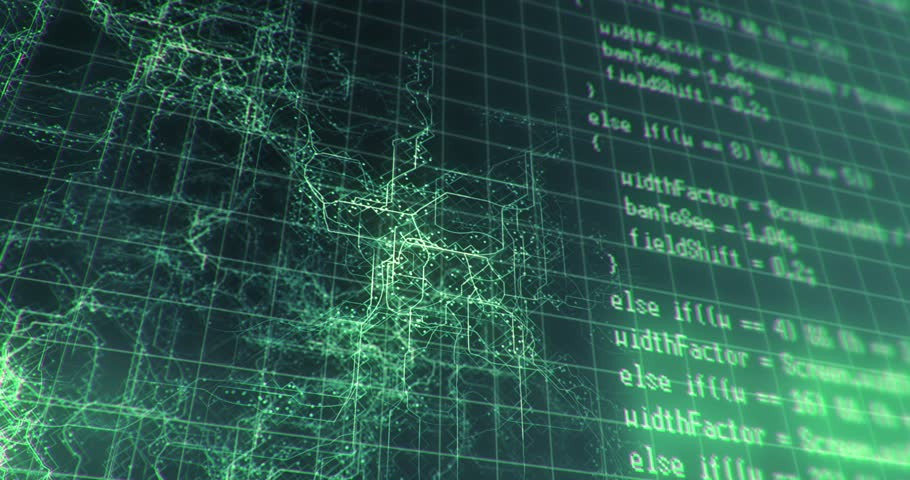 Cyber space concept (LOOP)   Shutterstock HD Video #10334069
