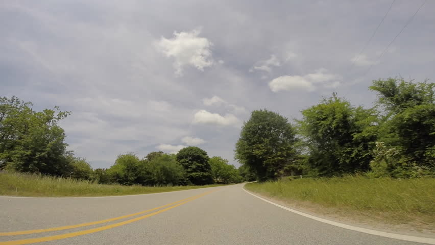 Scull Shoals Experimental Forest near Watkinsville, GA 05-09-2015  - HD stock video clip