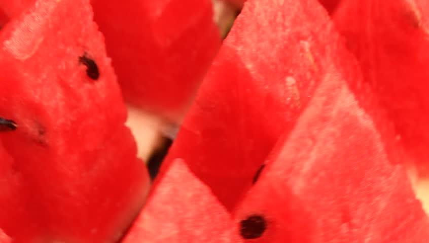 how to cut watermelon sticks video