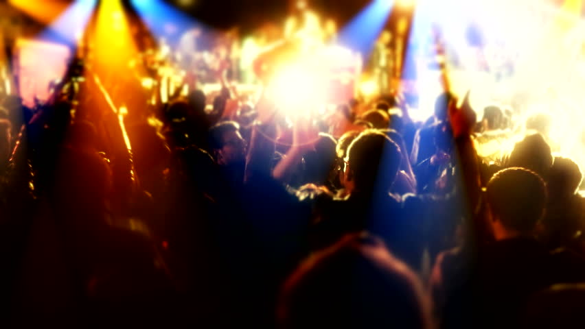 Concert people  | Shutterstock HD Video #10574891