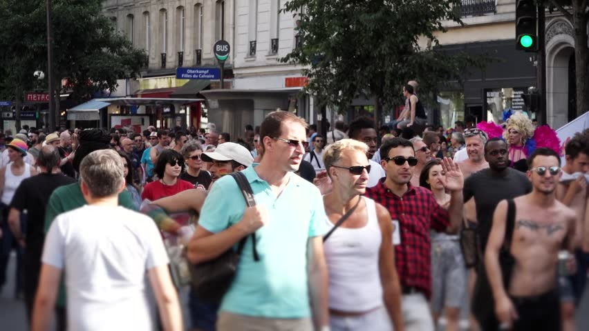 violance in america at gay festivals