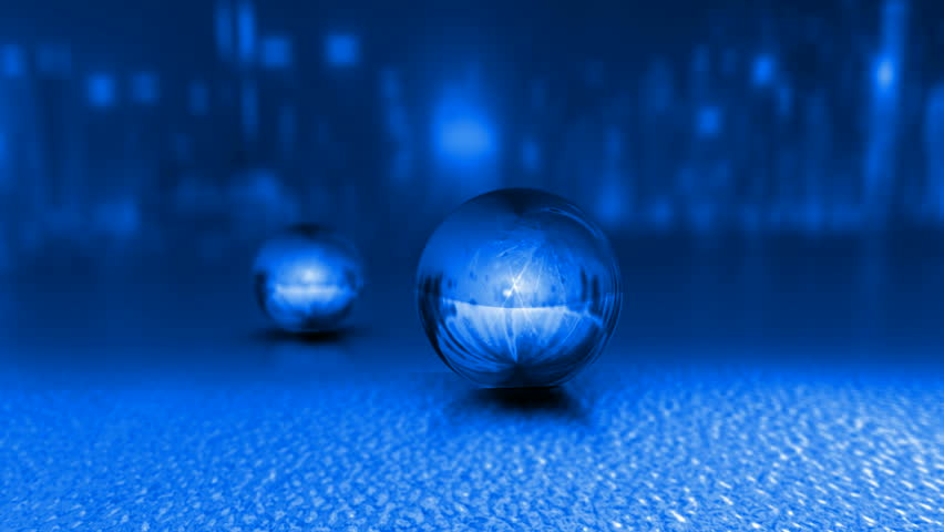3d Shattered Glass Balls Stock Footage Video 1064131 ...