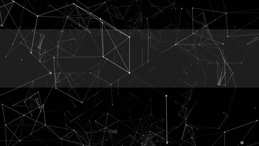 Wireframe Plexus Space Triangles VJ Loops