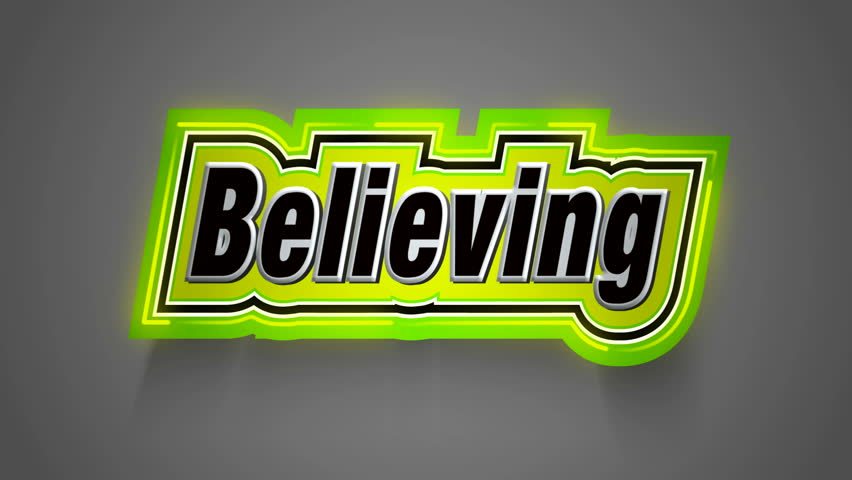 Believing Label for your Movie
