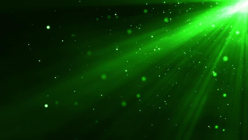 particle circle stream green colour stock footage video