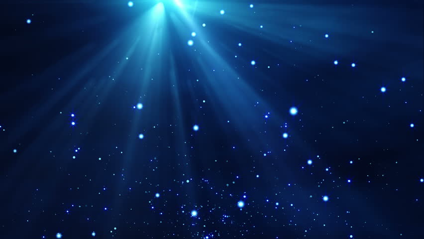 4k gold particles light stream animation background