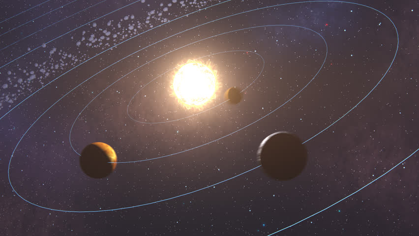 row planets in space - photo #9