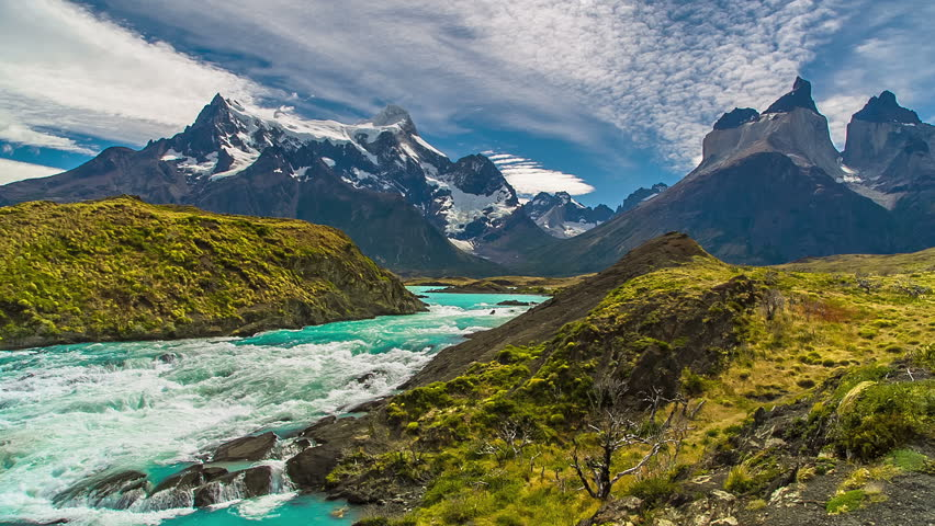 Mountain River near Torres del Paine | Shutterstock HD Video #11117375