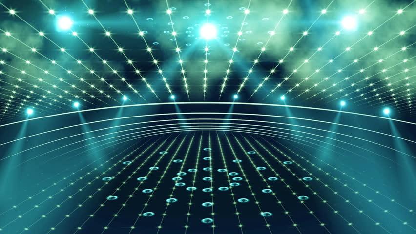 Concert stage 3d light | Shutterstock HD Video #11211245