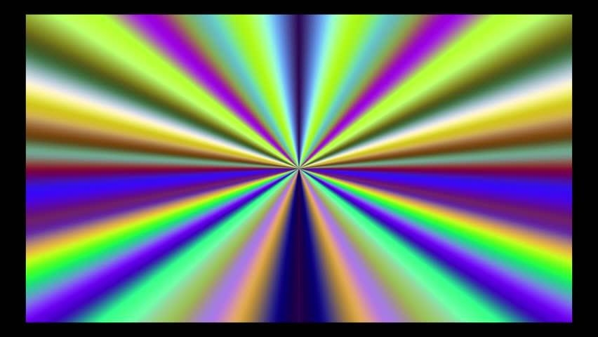 hypnotic colorful gradient loop - HD stock footage clip