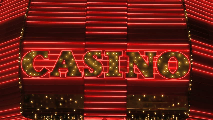 Las Vegas Casino Neon Sign