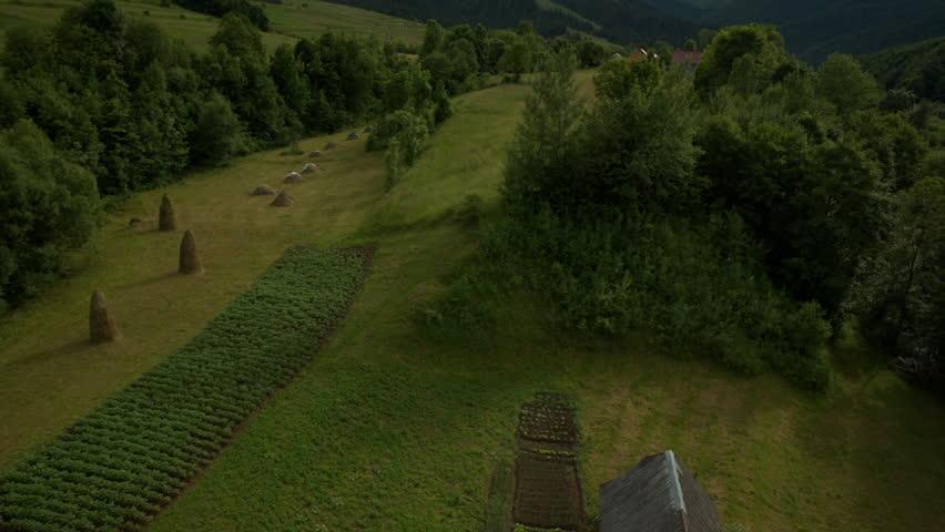 Aerial shot. Carpathian mountains, Ukraine. Summer 2015 | Shutterstock HD Video #11326211