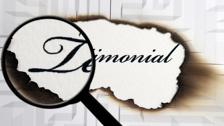 Search for testimonial