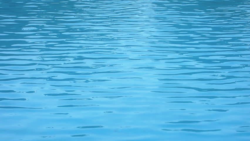 Perfectly Seamless Loop Of Light Blue Water Movement