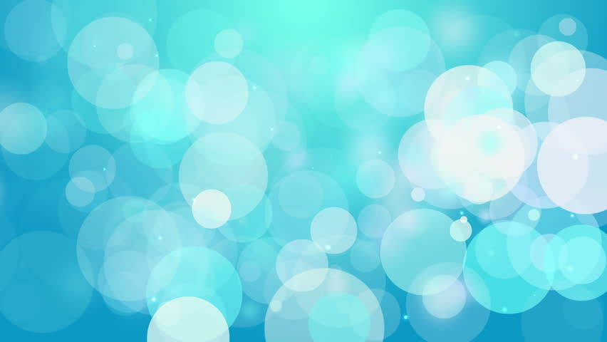 4k Clean Light Blue Smooth Bokeh Animation Background ...