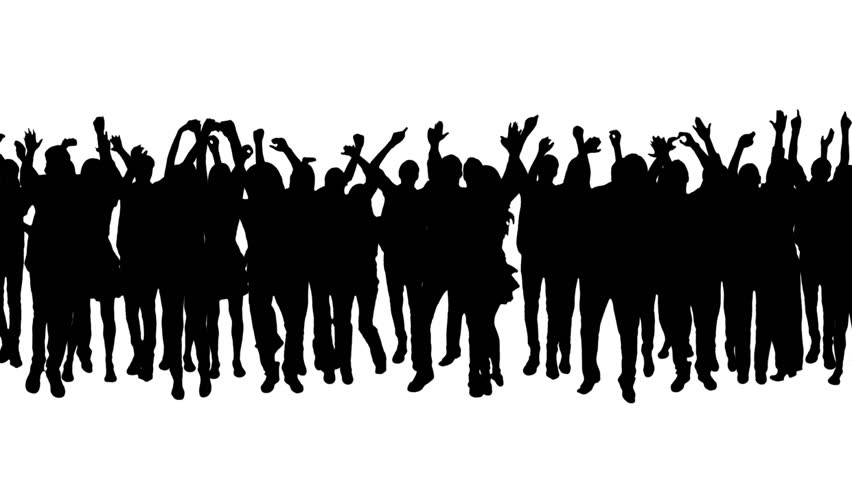 cheering crowd silhouettes alpha matte concert more Halloween Clip Art Witch Clip Art