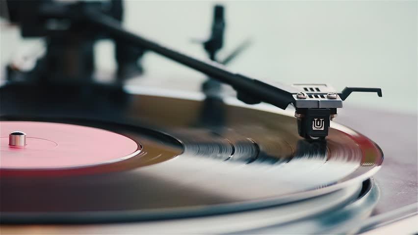 Vinyl record, player, the Soviet Union, the old technology, music, DJing, retro, modernism, play record, dear vinyl