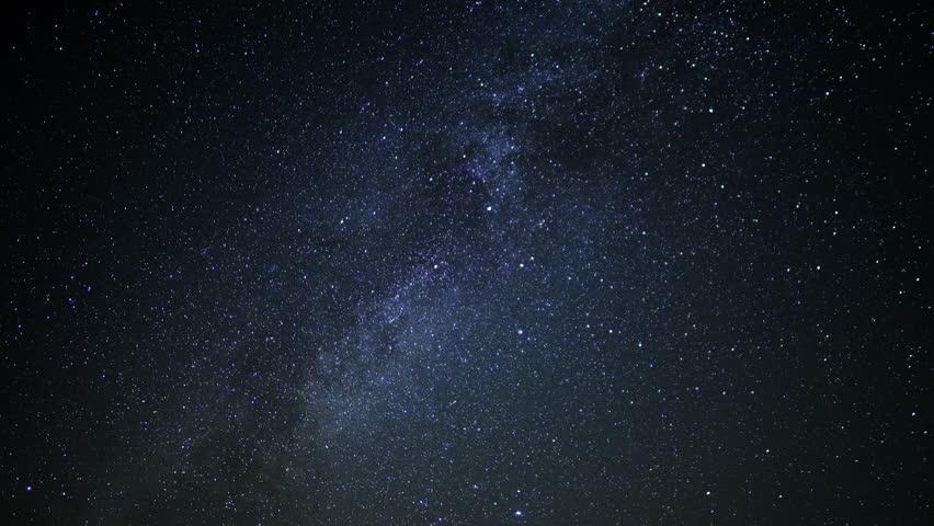 Milky Way Galaxy Time Lapse 12 Mojave Desert California ...