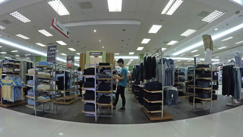 laguna philippines   september 19 2015 young man shopping for