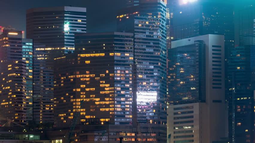 Compact building in Hong Kong. | Shutterstock HD Video #12130100