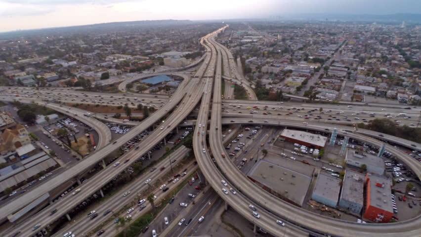 Aerial video in Los Angeles California.   Shutterstock HD Video #12314069