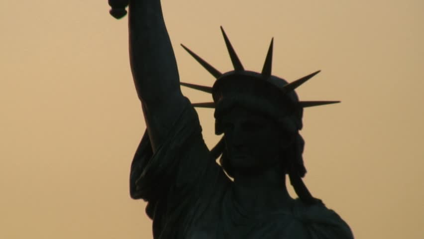 Statue of Liberty Copy - HD stock video clip