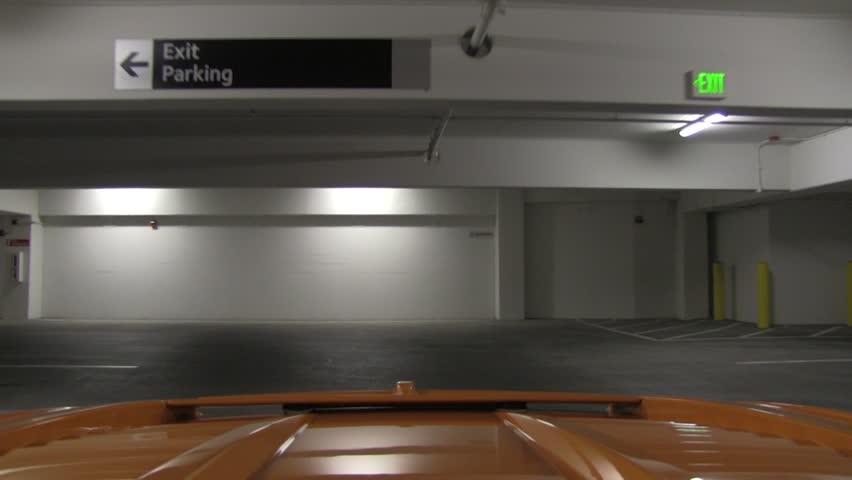 Lamborghini Driving Through Las Vegas Strip - rear - time-lapse, timelapse | Shutterstock HD Video #12590648