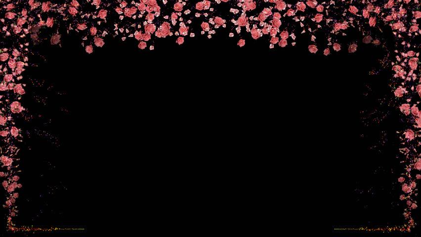 gold frame rose petals - photo #28