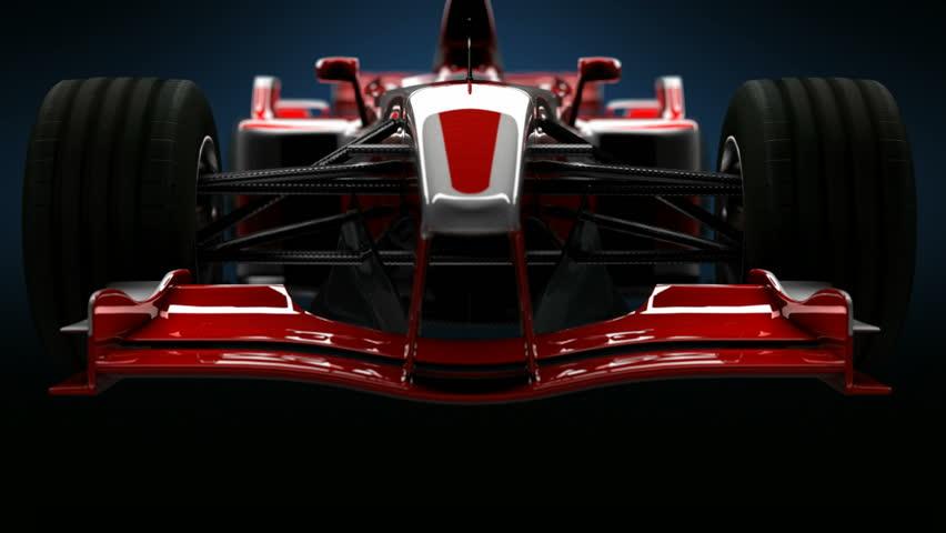 Formula One Car Detail Close up. HD   Shutterstock HD Video #12933557