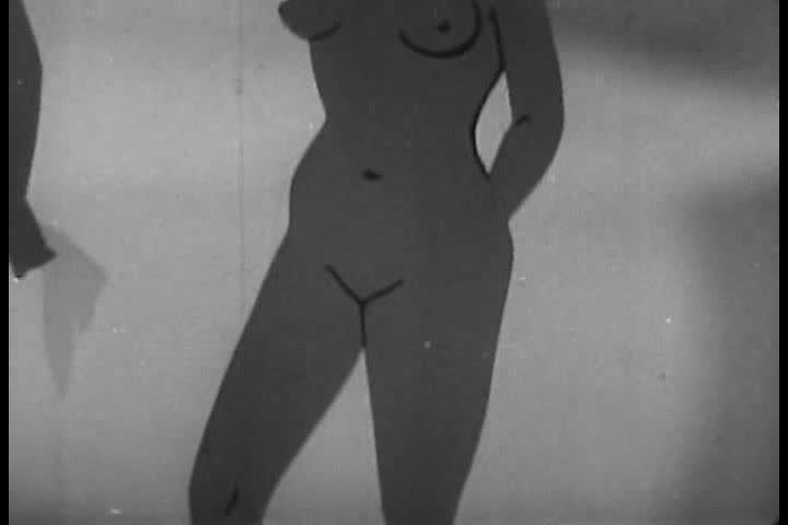 CIRCA 1940s - Detail of a woman's reproductive system in a 1949 sex education film. - SD stock video clip