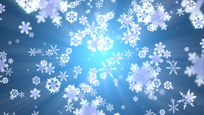 snow falling animated abstract background stock footage
