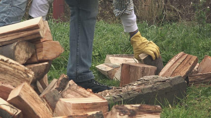 nenets woman cutting firewood - photo #47