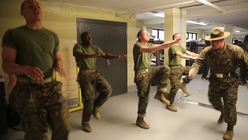 Circa 2010s The U S Army Puts Soldiers Though Intense