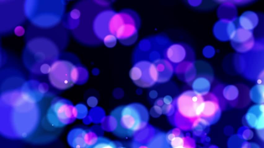 Defocused Abstract Background - Long Shot - Purple Vivid