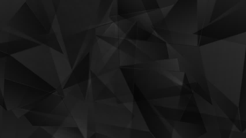 Corporate black geometric polygonal motion background. Video corporate animation HD 1920x1080 | Shutterstock HD Video #14058845