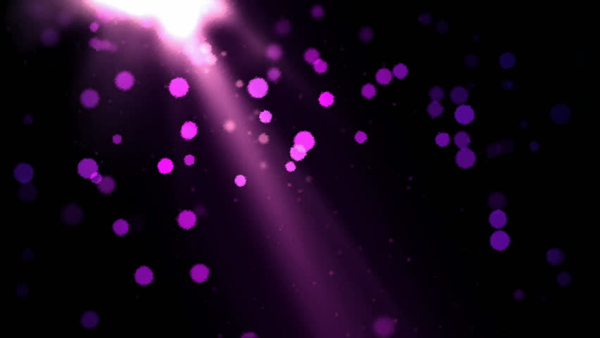 Abstract Particle Background - Loop Purple - 4K stock video clip