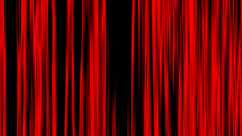 Black Curtain Texture open curtain texture of black and red vertical lines oscillating