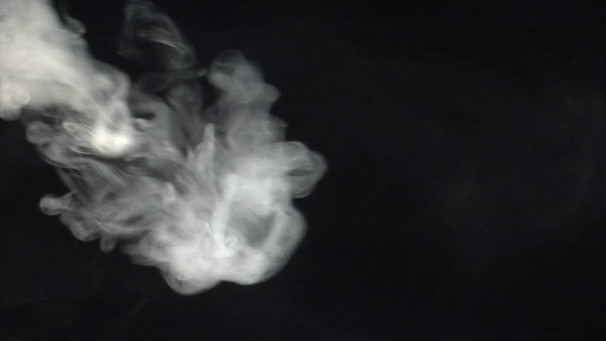 Smoke blast from left side. Real shots, no CGI or post effects!  - HD stock footage clip