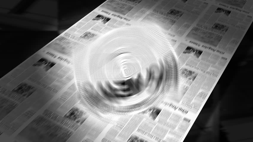 Big News! - Newspaper Headline Intro + Loops