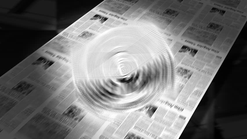 Financial Crisis - Newspaper Headline Intro + Loops
