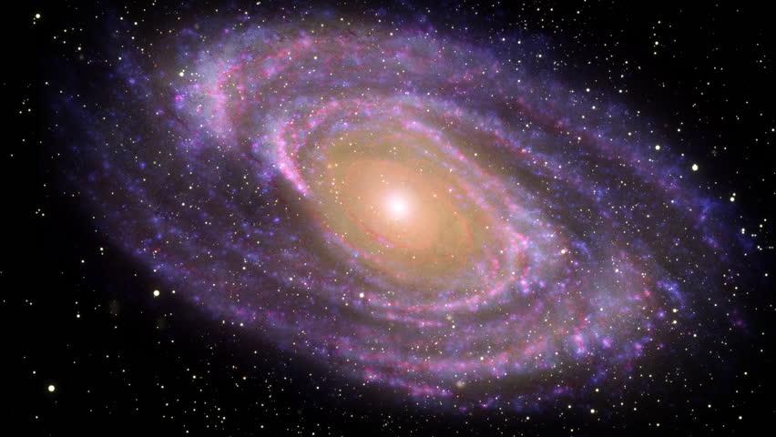 Galaxy in Deep Space