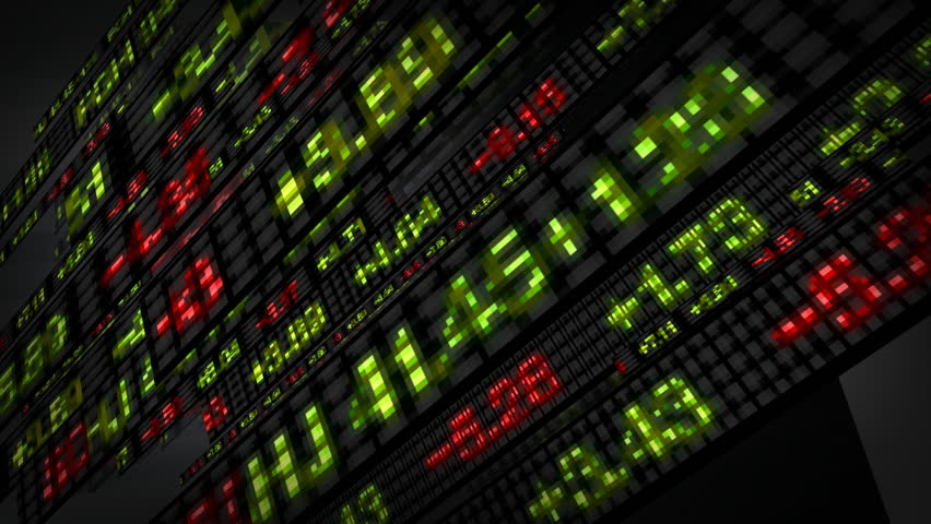 Stock Market Tickers Price Data Animation | Shutterstock HD Video #1769615