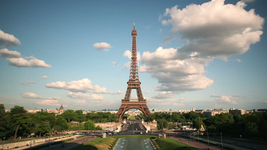 Timelapse Eiffel Tower