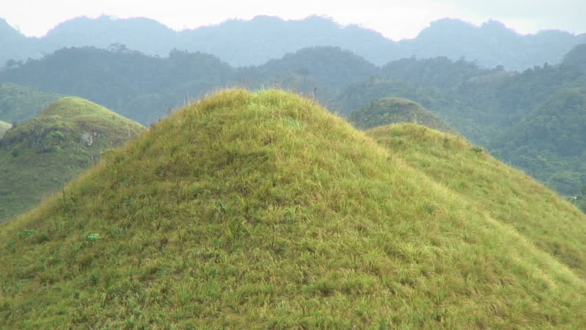 Zoom Out View From Beautiful Hills Bahol, Philippines