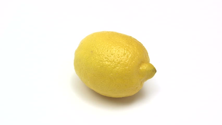Cutting Lemon - HD stock footage clip