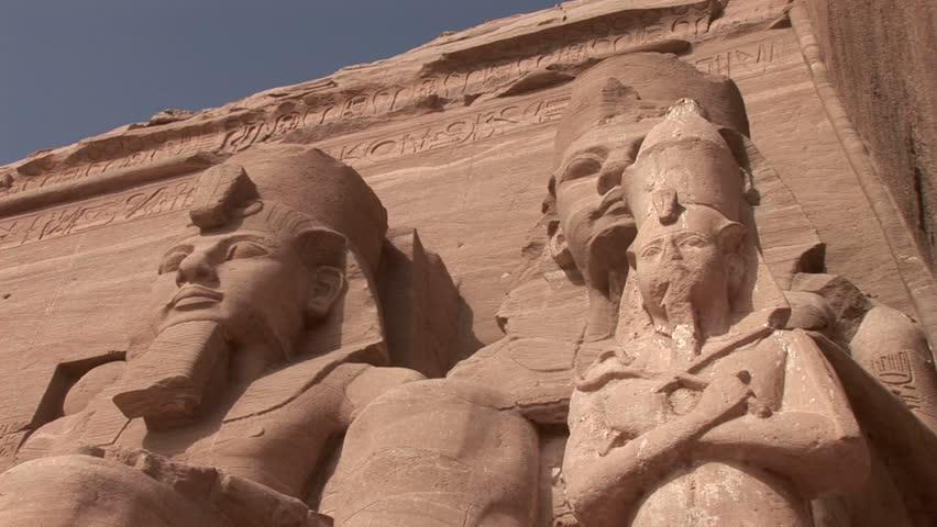 Rameses II Temple in Abu Simbel, Egypt.