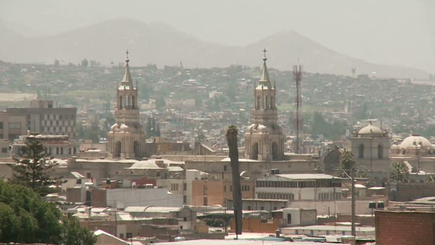 Architecture of Arequipa, Peru